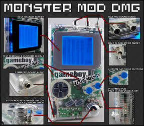 MONSTER DMG Specs