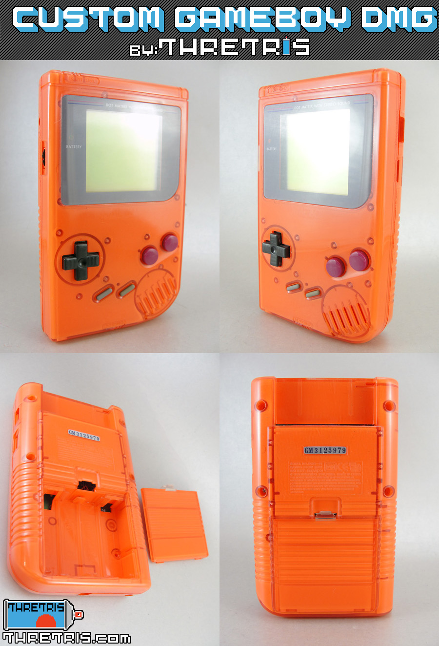 Inside Out Orange Gameboy by Thretris