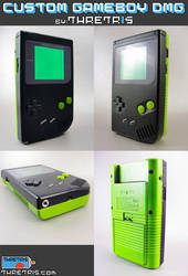 Green and Black Gameboy