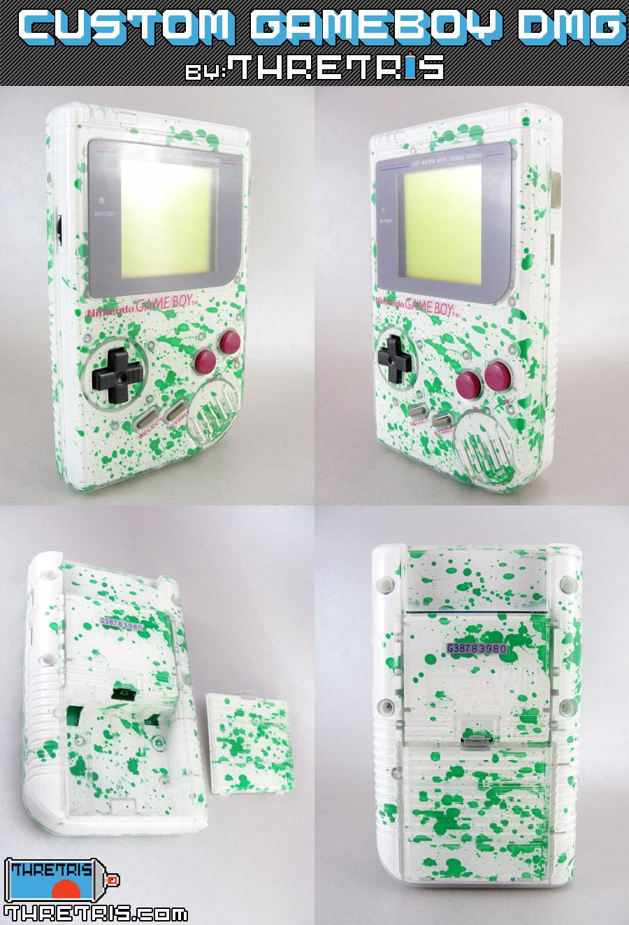 Inside out green splatter by Thretris