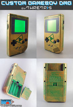 Backlit hyrule Gameboy