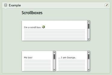 [Custom Box Code] White Scroll Boxes