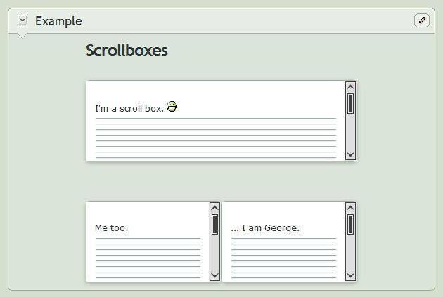 Custom Box Code] White Scroll Boxes by Daemon-Illusionum on DeviantArt