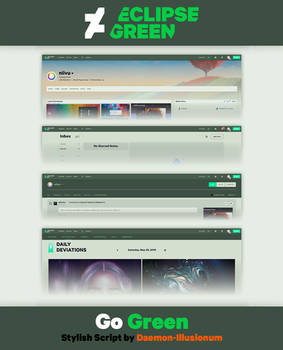 [USERSTYLE] Green Eclipse