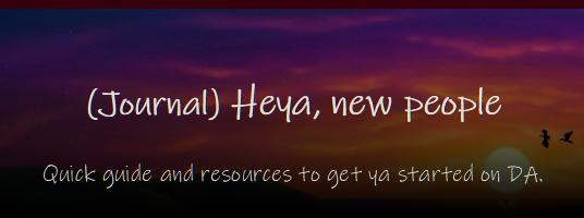 Custom Journal Heya