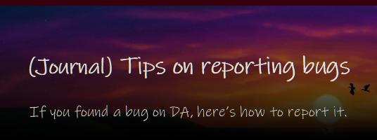 Custom Journal Reportbugs