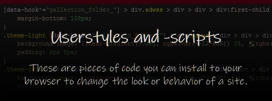 Custom Stylesnscripts