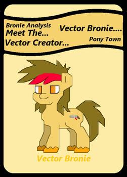 Meet Vector Bronie