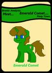 Meet Emerald Comet