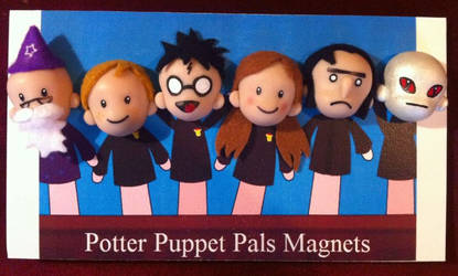 Potter Puppet Pals Magnets by Jarreth