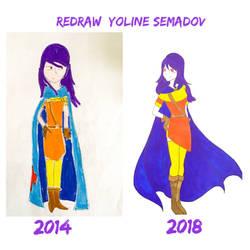 Redraw #1: Yoline Semadov by kelinchuaKigu