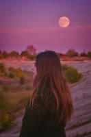 Wolf's moon by AlexandrinaAna