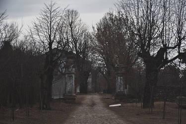 Degraded trees silhouettes by AlexandrinaAna