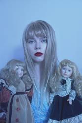 Porcelain dolls by AlexandrinaAna