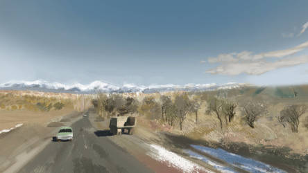 A363 Kyrgyzstan by charmay