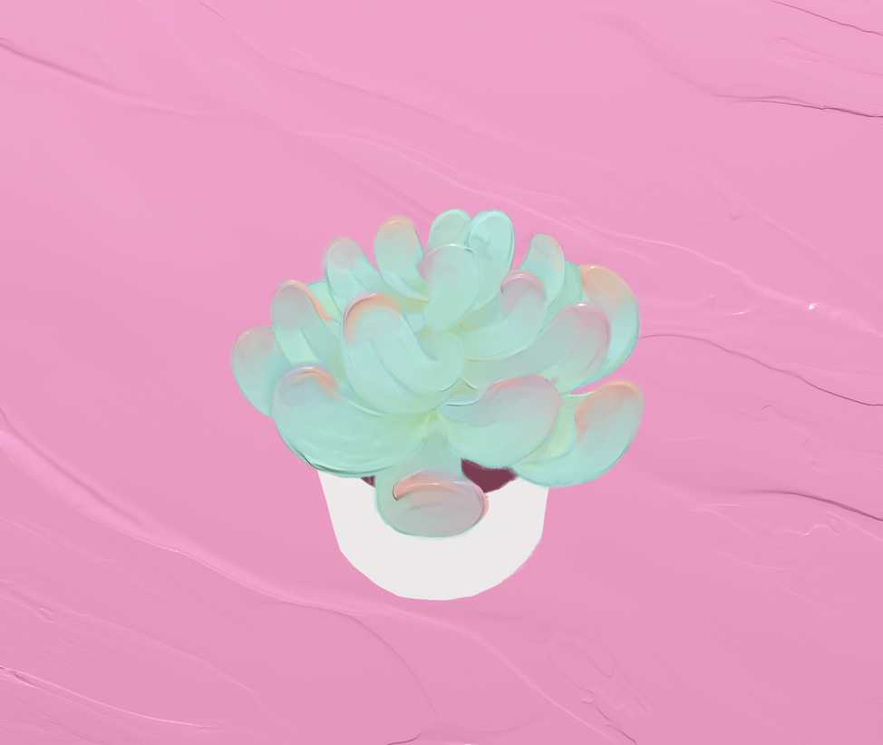 Succulent Love by charmay