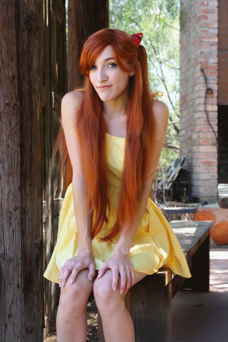 Asuka's Yellow Dress by ChibiEricka