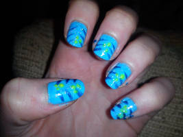 Avatar Nail Art by EnelyaSaralonde