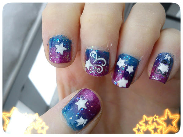 Star Nail Art Design by EnelyaSaralonde ... - Star Nail Art Design By EnelyaSaralonde On DeviantArt