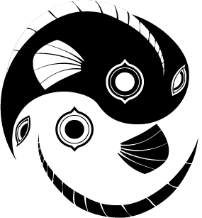 Yin yang fish design by artistlover on deviantart for Architecture yin yang