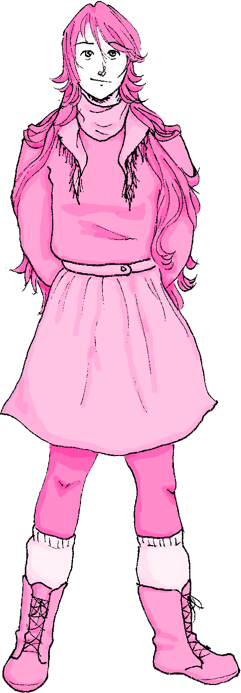ever wondered what althea would look like all pink by AsplodedKeruri
