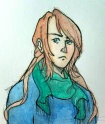 Watercolor Althea