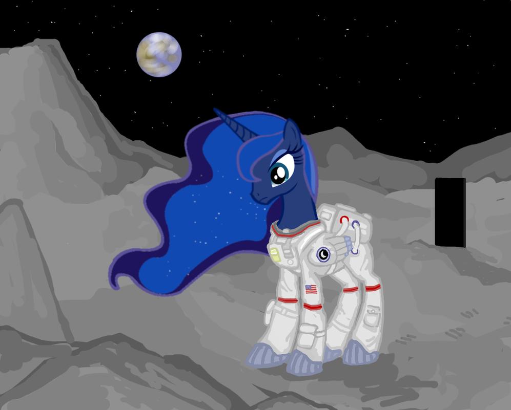 Lunar excursion by ColorCopyCenter