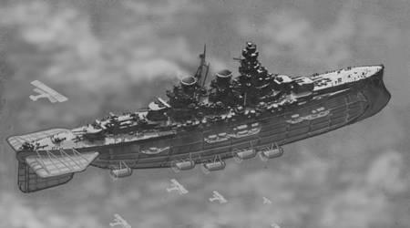 Aerodreadnought of the 4th Cruiser Squadron