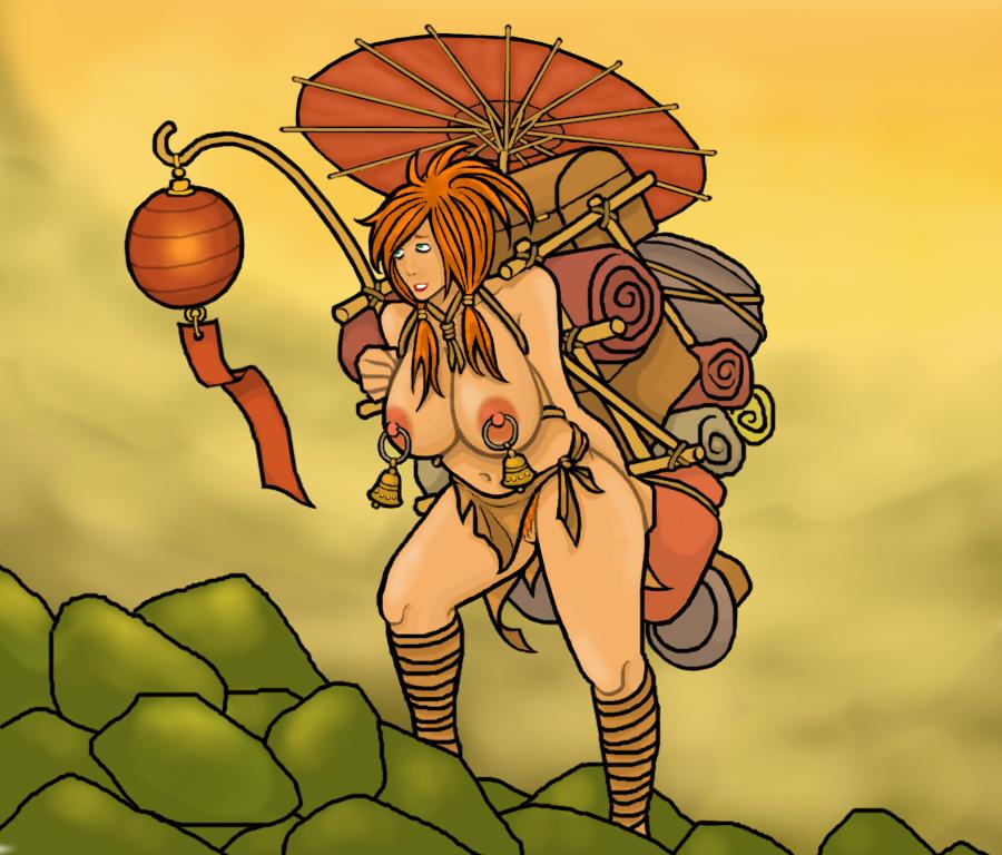 Silk Road Slave Girl by ColorCopyCenter