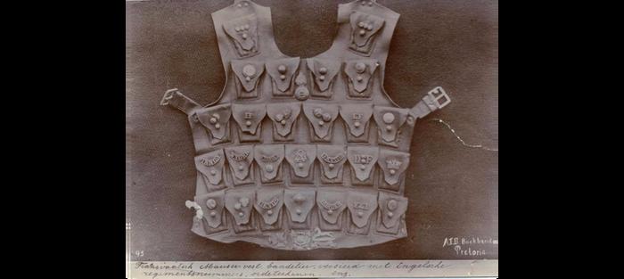 War trophy Boer bandoleer-vest