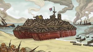 Treadnought Assault by ColorCopyCenter
