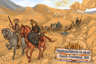 Staatsartillerie in action by ColorCopyCenter