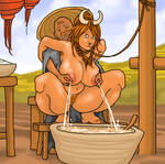 White Udders at Work: Big Tits, the Penitent Cow by ColorCopyCenter