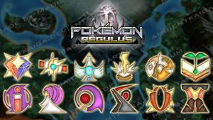 Pokemon Regulus Gym Badge