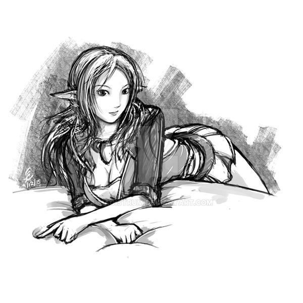 Magistelle Sketch by Magistrum