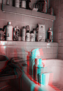 3D Anaglyph HDR Test