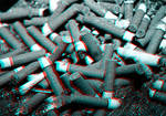 3D Anaglyph Ashtray