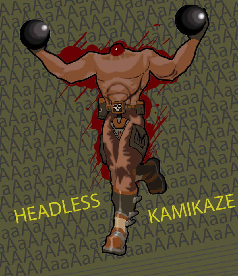 Serious Sam Headless Kamikaze by firestar1202