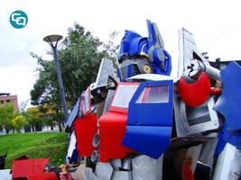 Optimus Prime by Anne-annie-annet