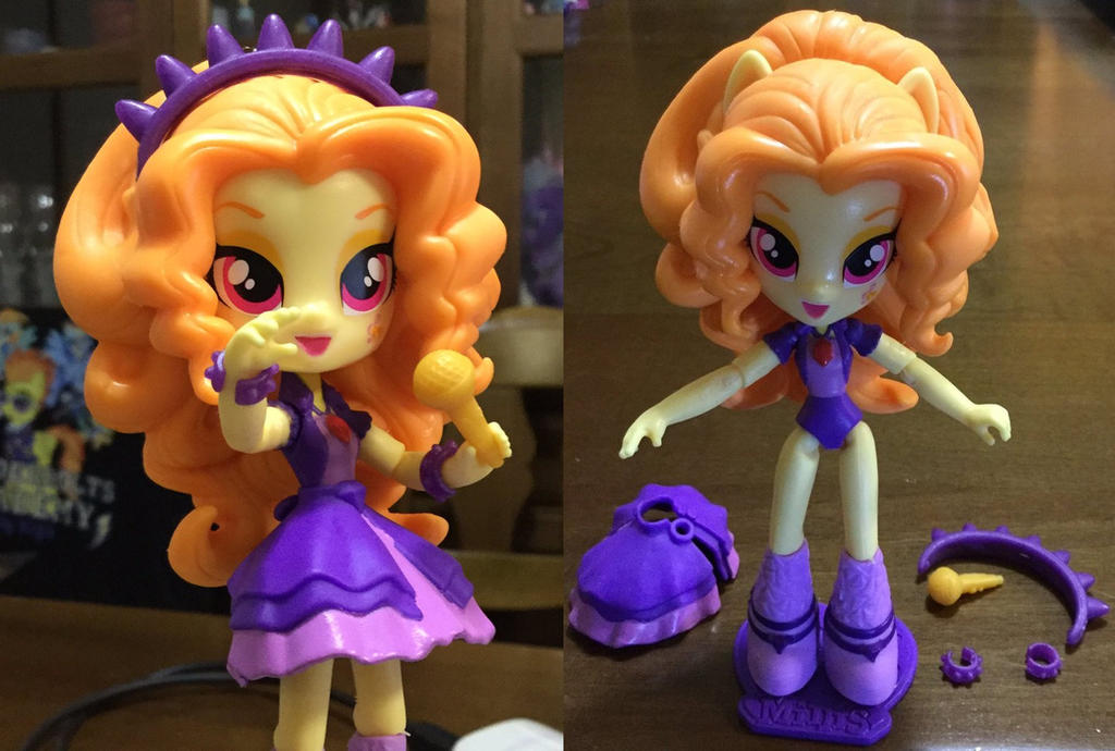 mlp equestria girls minis adagio dazzle doll by