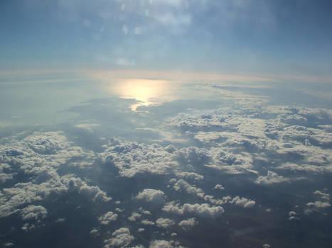 Aeroplane Sky Shot