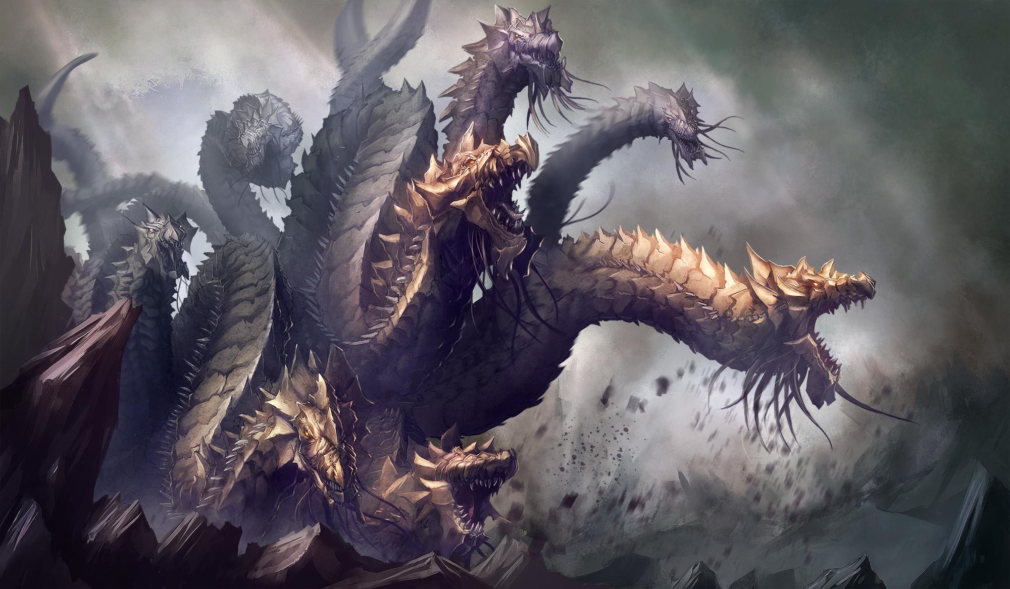 Hydra Dragon Pokemon Hydra By Yoso Dbmpqg