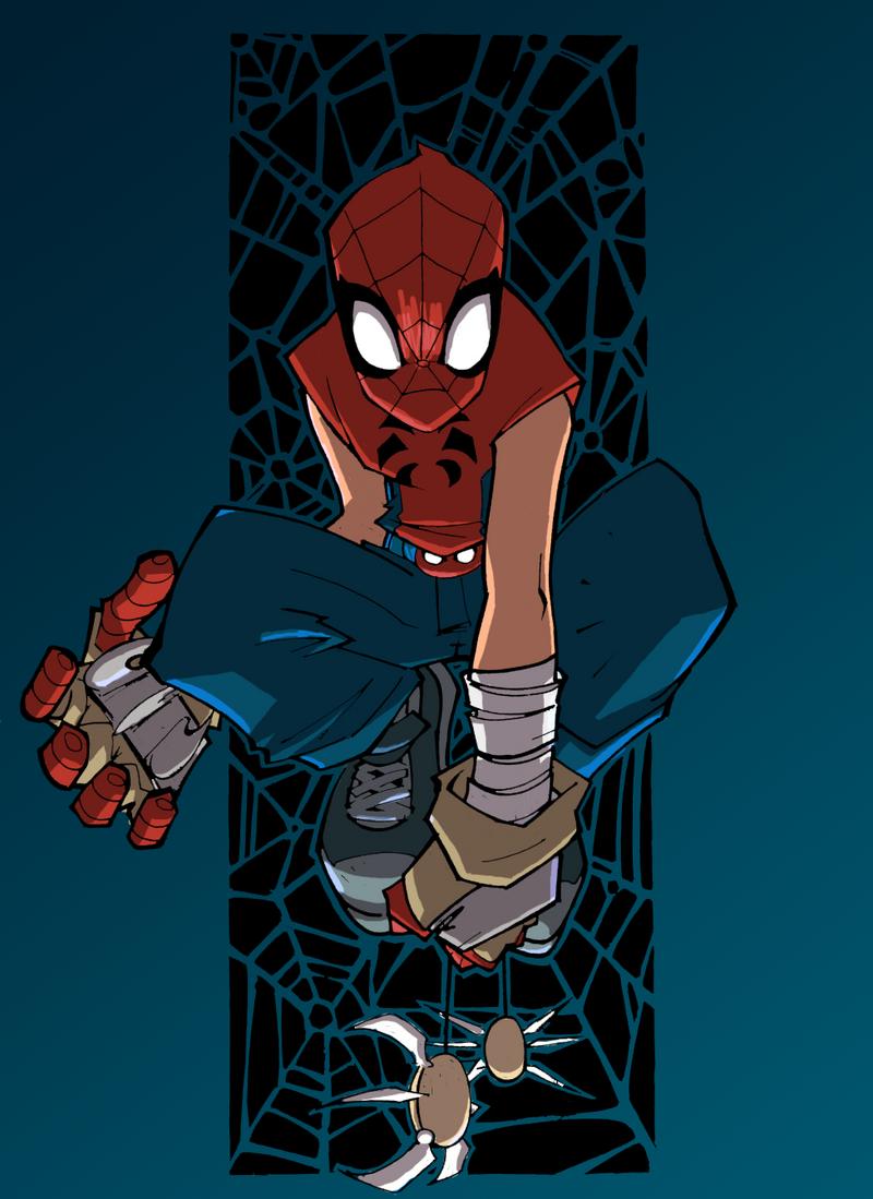 Mangaverse Spider-Man-... Mangaverse Spider Man Wallpaper