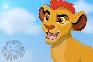 Kion the lion guard by Katashi1995