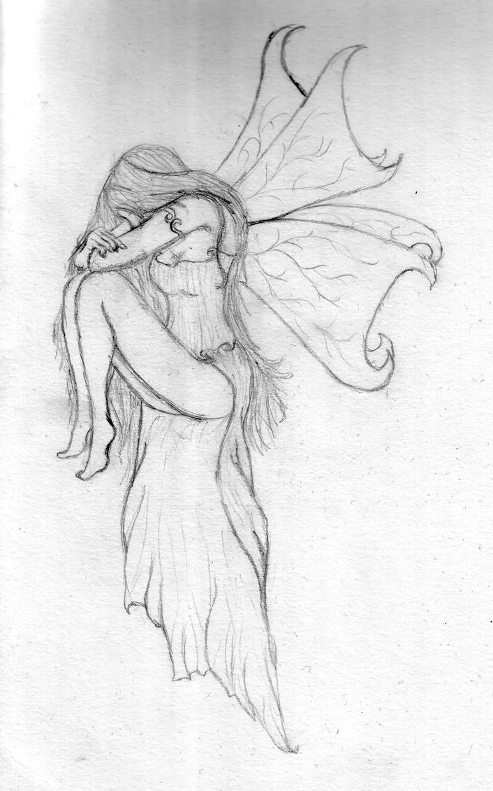 Fairy Sketch By Nobody Lives Here On DeviantArt