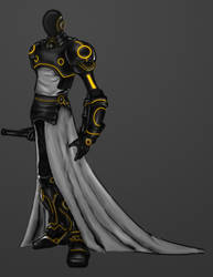 Tron Knight Work in Progress