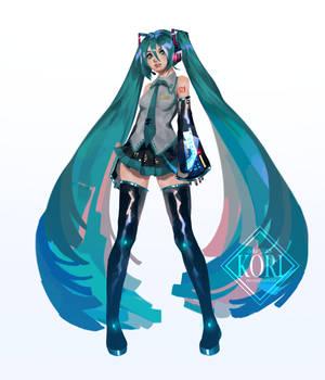 Hatsune Miku Draw