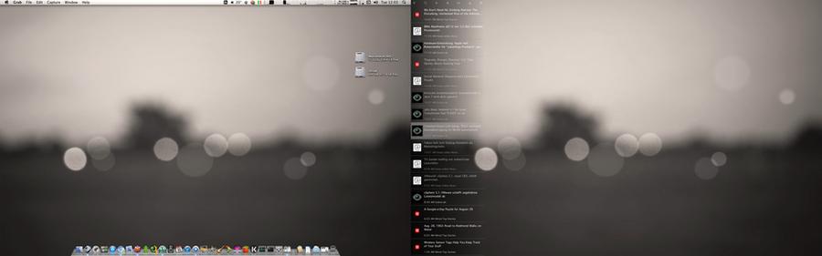 OS X 10.7 by yannikschier