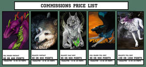 [OPEN]Commissions Price list