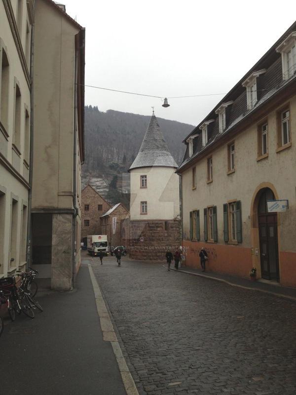 Way to Marstall by davidfriedrich